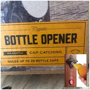 NIB REFiNARY and Co Magnetic bottle opener